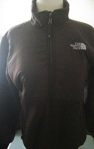 Girls North face zip up fleece